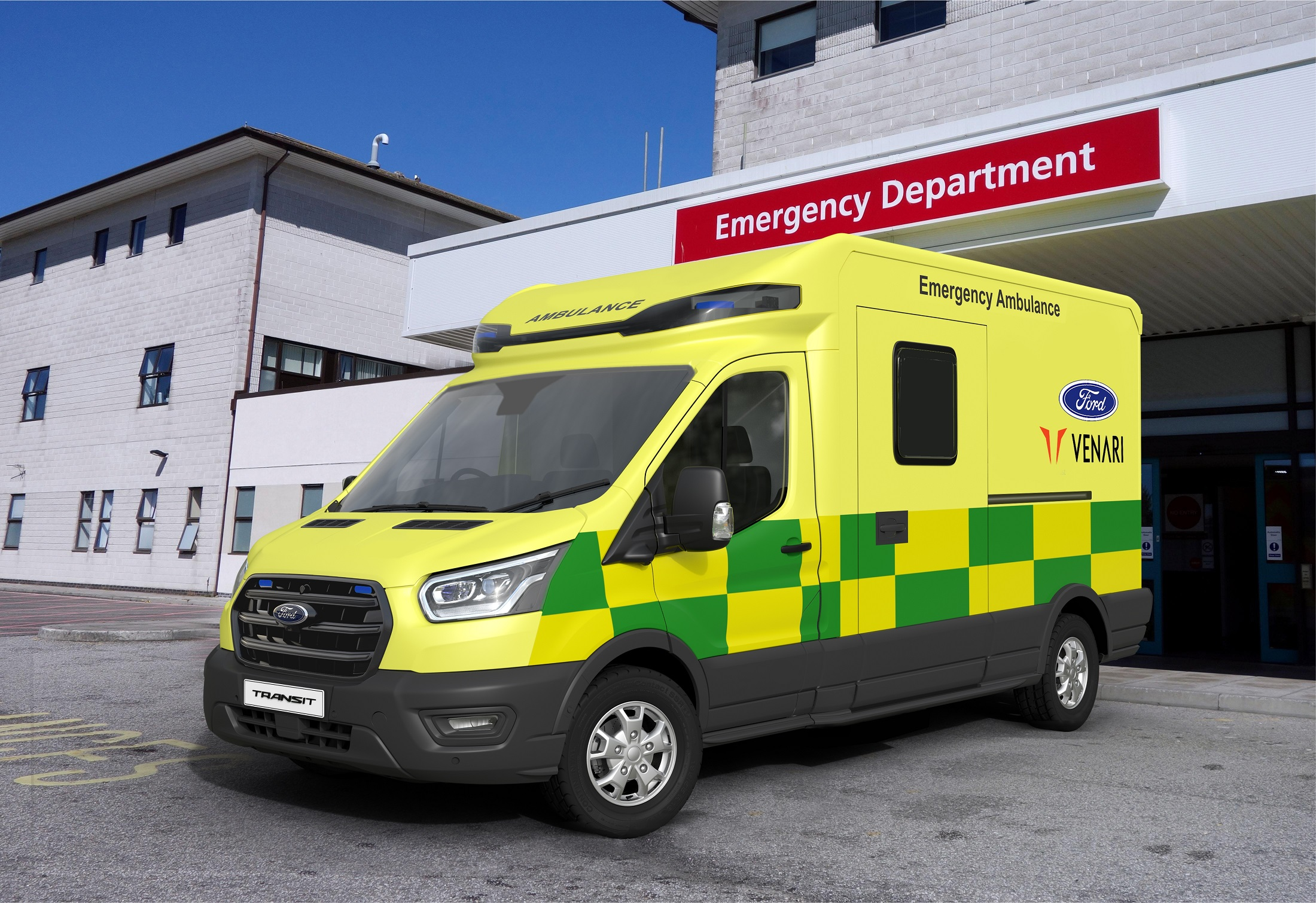 Ford Venari Project Siren Ambulance